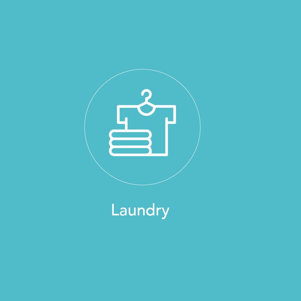Laundry at Finlay Jack's
