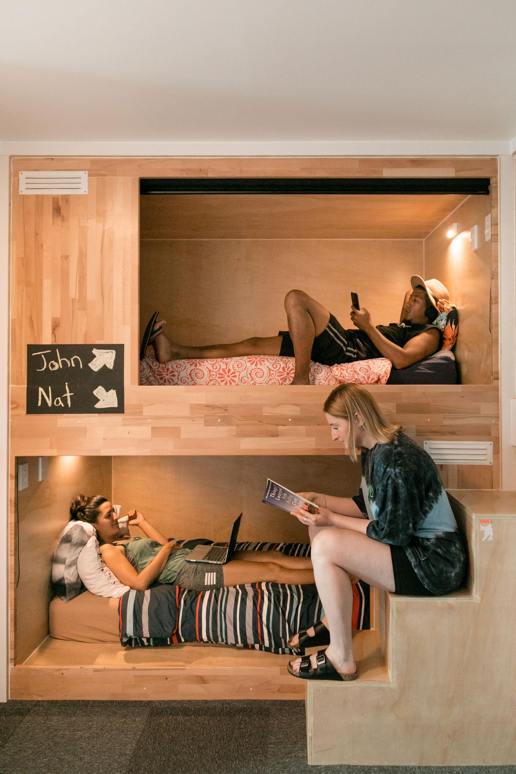 YHA Taupo Finlay Jack's Pod Accommodation