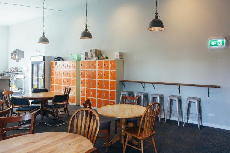 Communal Kitchen At YHA Taupo Finlay Jacks