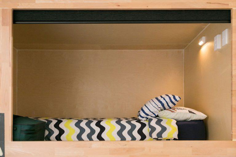 Pod Accommodation at Finlay Jacks YHA Taupo